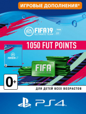 FIFA 19 Ultimate Team - 1 050 FUT Points (PS4-цифровая версия)