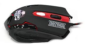 Игровая проводная мышь QUMO Dragon War Biohazard