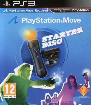 Купить Starter Disc Move Ps3 (Gamereplay)