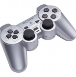 Controller Dual Shock 2 Satin Silver (PS2)