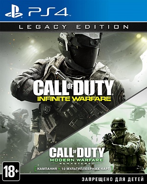 Call of Duty: Infinite Warfare Legacy Edition (PS4) (GameReplay) фото