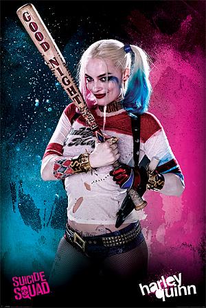 Постер Maxi Pyramid – DC: Suicide Squad (Harley Quinn) (61 x 91 см)