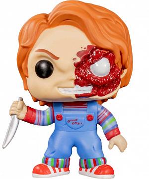 Фигурка Funko POP Horror – Chucky Half (BD) (Exc) фото