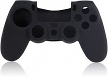 Silicone Cover для Dual Shock 4 Black (PS4)