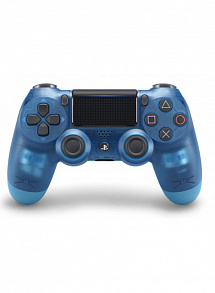 PS 4 Геймпад Sony DualShock Crystal Blue v2