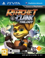 Ratchet & Clank Trilogy (PSVita) (GameReplay)