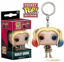 Брелок Funko Pocket POP! Keychain: Suicide Squad: Harley Quinn Gown (Exc)
