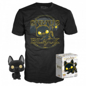 Набор Фигурка + Футболка Funko POP and Tee – Harry Potter: Sirus Black (L) (38973)