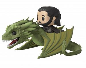 Фигурка Funko POP Rides: Game of Thrones – Jon Snow w/Rhaegal фото