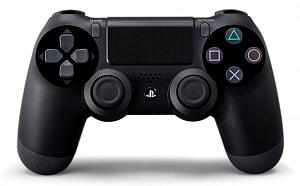 Controller Wireless DualShock 4 Black (PS4) (GameReplay) от GamePark.ru
