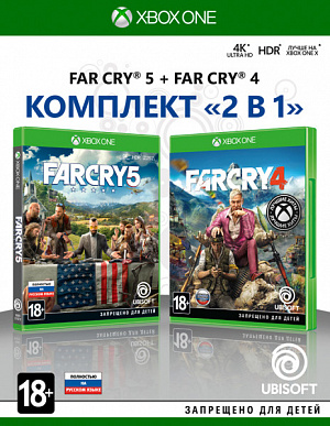 Комплект «Far Cry 4» + «Far Cry 5» (Xbox One) фото