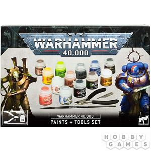 Warhammer 40 000 – набор Краски и инструменты