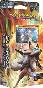 Pokemon Sun & Moon «Burning Shadows». Тематическая колода «Rock Steady» / SM03 PCD EN