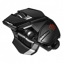 PC Мышь Mad Catz Office R.A.T Wireless Mouse - Gloss Black беспроводная лазерная (MCB4372400C2/04/1)