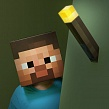 Скриншот Minecraft: Light-Up Wall Torch , 2