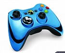 Скриншот Controller Wireless R Chrome Series Blue, 2
