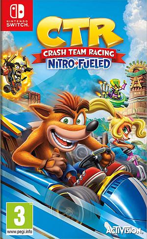 Crash Team Racing: Nitro-Fueled (Nintendo Switch) – версия GameReplay фото
