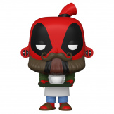 Фигурка Funko POP Marvel Deadpool 30th – Coffee Barista (54653)