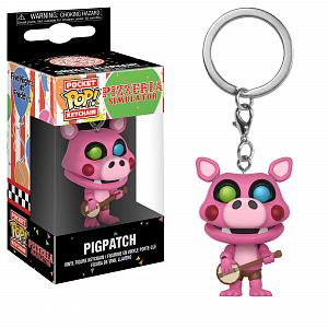 Брелок Funko Pocket POP! Keychain: FNAF:Pizza Sim: Pigpatch 32156-PDQ фото