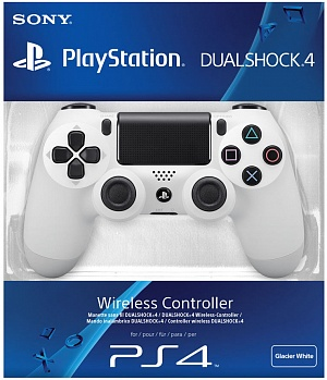 Геймпад Sony DualShock White v2 (CUH-ZCT2E)