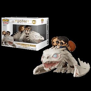 Фигурка Funko POP Rides Harry Potter – Dragon w/Harry, Ron, & Hermione (50815)