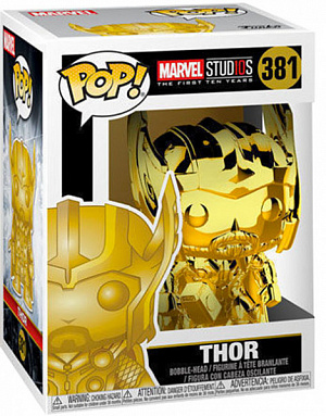 Фигурка Funko POP! Bobble: Marvel: MS 10: Thor (Chrome) 33518 фото
