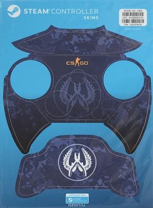 Комплект накладок CSGO Blue Camo для Steam Controller