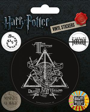 Наклейки Pyramid: Harry Potter (Symbols) фото