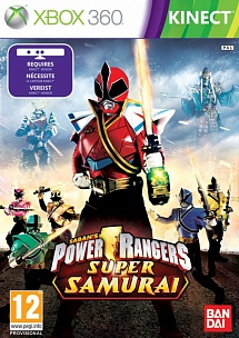 Power Rangers Super Samurai для Kinect (Xbox 360)