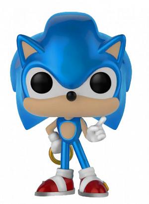 Фигурка Funko POP Sonic the Hedgehog – Sonic with Ring (MT) (Exc) (33221)