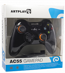 PC беспроводной геймпад Artplays AC55 Bluetooth/радио 2,4GHz PC,  Android, (AND-A003BT)