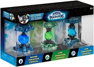 Набор из 3 кристаллов Skylanders Imaginators №1 - стихии Water/Air/Life.