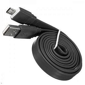Кабель, USB-Micro USB, плоский...