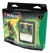 Колода Magic The Gathering: Commander Deck – Гнев земли. Издание Расцвет Зендикара (на русском языке)