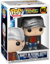 Фигурка Funko POP Back to the Future – Marty in Future Outfit (48707)