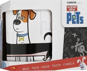 Кружка керамическая в подарочной упаковке (325 мл). Тайная жизнь домашних животных Макс и Бадди