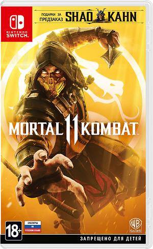 Mortal Kombat 11 (Nintendo Switch) фото