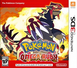 Pokemon Omega Ruby (русская версия) + CARD CASE (3DS)