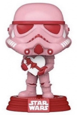 Фигурка Funko POP  Star Wars – Valentines: Stormtrooper w/Heart (52873)