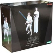 Набор фигурок Star Wars Luke Skywalker and Princess Leia (16 см)