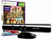 Сенсор Kinect для Xbox 360 + игра Kinect Adventures (GameReplay)