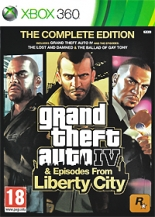 Grand Theft Auto IV + Episodes from Liberty City (Xbox 360) (GameReplay)