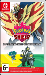 Pokemon Shield + Expansion Pass (Nintendo Switch)