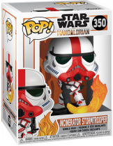 Фигурка Funko POP Star Wars: Mandalorian – Incinerator Stormtrooper (45542)
