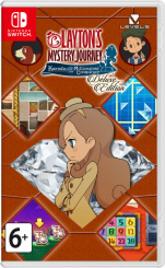 Layton's Mystery Journey: Katrielle and the Millionaires' Conspiracy. Deluxe Edition (Nintendo Switch)