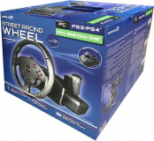 PS 4 Руль ARTPLAYS Street Racing Wheel Turbo C900 совместим с PS3, ПК, Xbox ONE, Xbox 360