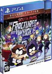 South Park: The Fractured but Whole. Deluxe Edition (PS4) (GameReplay)