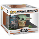 Фигурка Funko POP Deluxe Star Wars – The Mandalorian: Child w/ Canister (50962)