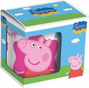 Кружка керамическая в подарочной упаковке (220 мл). Свинка Пеппа