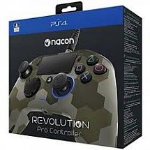 PS 4 Геймпад проводной NACON Revolution Pro Controler Green Camouflage